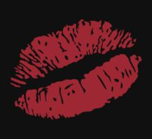 Lipstick on your T-Shirt by LaundryFactory