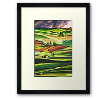 The Palouse Framed Print
