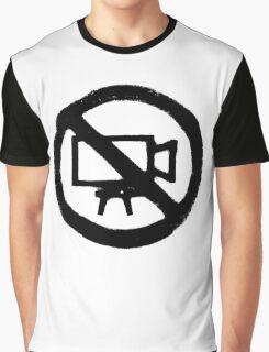 No Camera Graphic T-Shirt