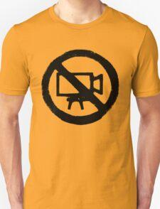 No Camera T-Shirt