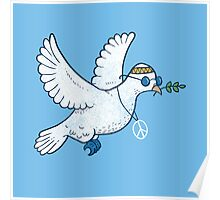 The Hippie Dove Poster