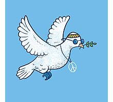 The Hippie Dove Photographic Print