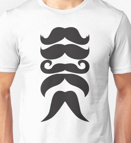 Mustache Line Unisex T-Shirt