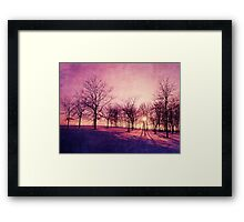 Before The Night Framed Print