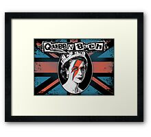 Queen Bitch Framed Print