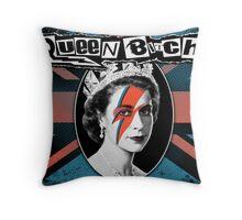 Queen Bitch Throw Pillow