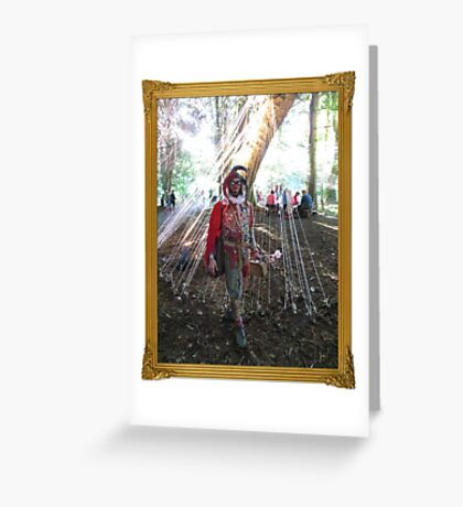 Magical Jester Greeting Card