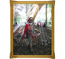 Magical Jester Photographic Print