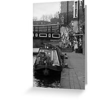 Regents Canal, London Greeting Card