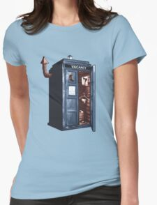 Doctor Who Gives A Sh!t. Womens Fitted T-Shirt