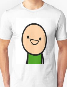 CYANIDE & HAPPINESS FACE Unisex T-Shirt