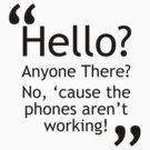 Torchwood - Phones Aren't Working by voidstuff