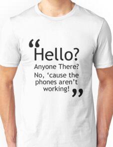 Torchwood - Phones Aren't Working Unisex T-Shirt
