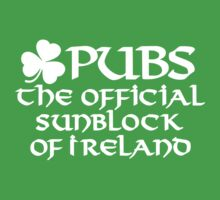 Pubs, the official sunblock of Ireland by LaundryFactory