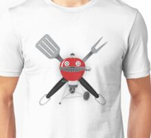 Grill Master - Red Unisex T-Shirt