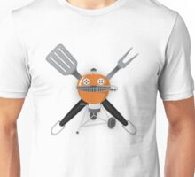 Grill Master - Orange Unisex T-Shirt