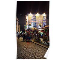 Ireland's Temple Bar Poster