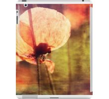 Poppy with Bumble Bee iPad Case/Skin