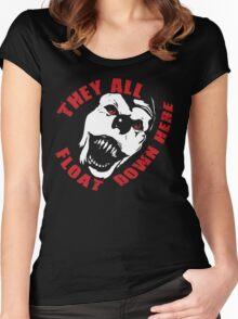 IT HAPPENS. Women's Fitted Scoop T-Shirt