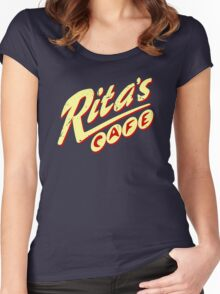 Rita's Cafe Women's Fitted Scoop T-Shirt