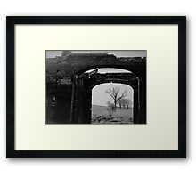 Black And White Photo In A Photo Framed Print