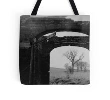 Black And White Photo In A Photo Tote Bag