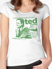 Ted Unhinged! Women's Fitted Scoop T-Shirt