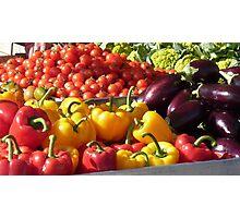 Market colours Photographic Print
