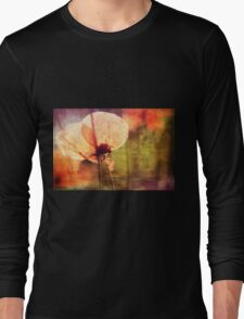 Poppy with Bumble Bee Long Sleeve T-Shirt
