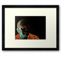 Faraway thoughts Framed Print