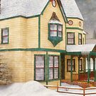 The House in a Winter Wonderland by Liam Liberty