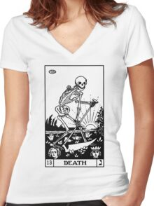 XIII II Women's Fitted V-Neck T-Shirt