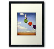 Cloud Play Framed Print