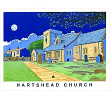 Hartshead Church, West Yorkshire Photographic Print