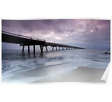 Out To Sea - Lucinda Jetty Poster