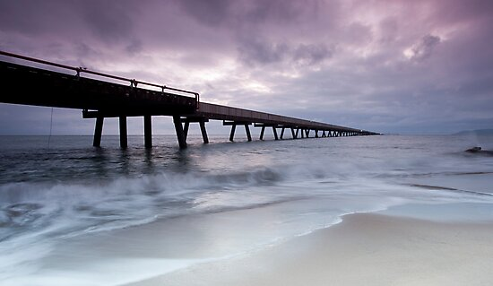 Out To Sea - Lucinda Jetty by Jenny Dean