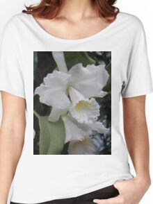 White Orchid Women's Relaxed Fit T-Shirt