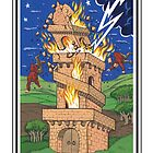 The Fool's Tarot - The Tower by bruce baillie