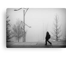 A foggy day #2 Canvas Print