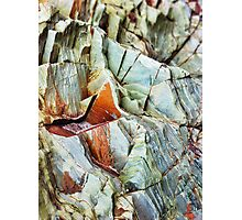 Rock layers Photographic Print