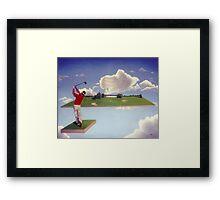 The Joy Of Golf Framed Print