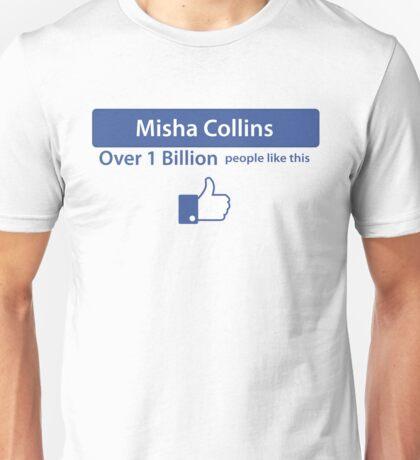 Over a Billion Like Misha Collins Shirt Unisex T-Shirt