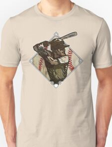 Retro Baseball Diamond Unisex T-Shirt
