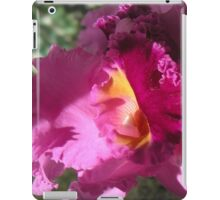 Pink Cattelya Orchid iPad Case/Skin