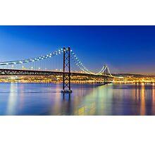 Nightly Lisbon Photographic Print