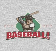 Diamond Batter Baseball Player by MudgeStudios