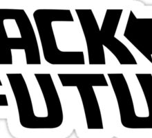 Black is my future Sticker