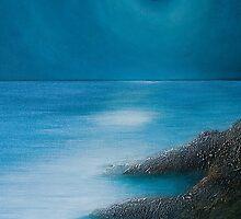Mermaid Moon by izumiomoriart
