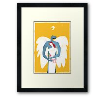 The Angel's Family Framed Print