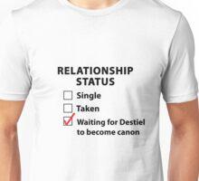 Relationship Status Destiel Shirt Unisex T-Shirt